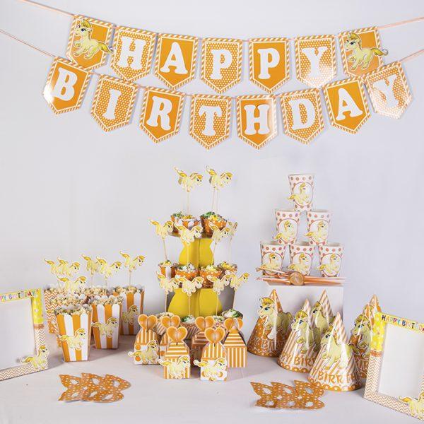 Set sinh nhật chủ đề tuổi Ngọ - Ngựa